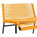 Orange Stuhl Spulen