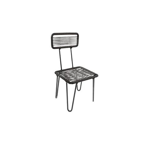 Black Lilou Chair