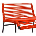 Red chair coils