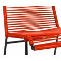 bobina de silla Rojo