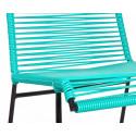 Bobine Chaise Verte Turquoise