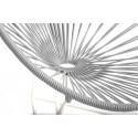 Silex Grey acapulco kids chair White frame
