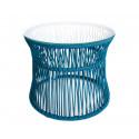 Ocean Blue Table ITA White frame