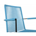 Fjord Blue Dining armrest chair