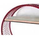 Burgundy Sonix Shelf