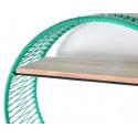 Turquoise Sonix Shelf