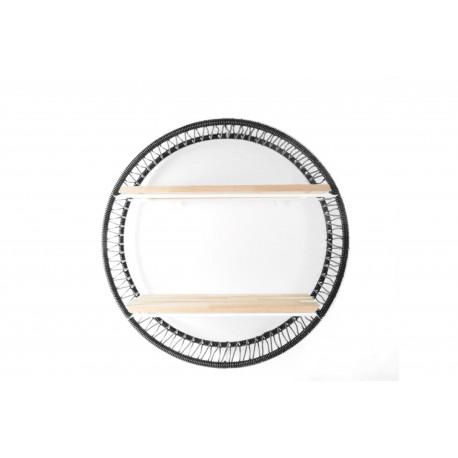 Black Sonix Shelf White struktur