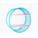 Turquoise Sonix Shelf White frame