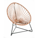 Leather acapulco kids chair