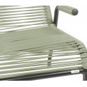 Fauteuil lounge Brazza vert olive