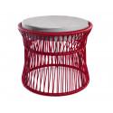 Ottoman Purple Red Bordeaux Acapulco chair