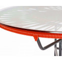 Detail Red Outdoor coffee table