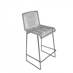 Gray kitchen chair