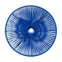 Plafonnier en fil bleu nuit