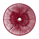 Red Bordeaux Wire dome