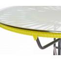 Detail Lemon Yellow coffee table