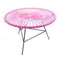 Magenta coffee table