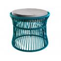 Ottoman fauteuil Acapulco Bleu Ocean