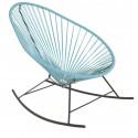 fauteuil à bascule Acapulco Bleu Fjord