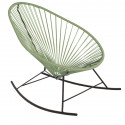 Olive Green Acapulco rocking chair