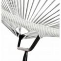 Acapulco Silex Grey Chair and Black frame