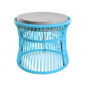 Ottoman Fjord Blue Acapulco chair