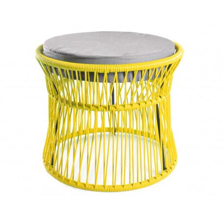 Ottoman Lemon Yellow Acapulco chair