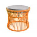 Ottoman fauteuil Acapulco Orange
