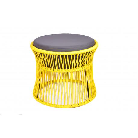 Pouf Yellow Acapulco chair