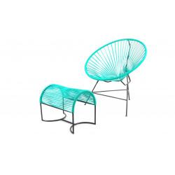 Turquoise Footrest Tulco