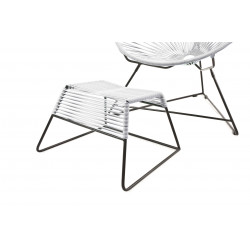 White Footrest Pulco