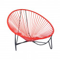 Red Tulum Lounger