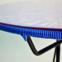 Détail Table basse Acapulco Bleu Nuit