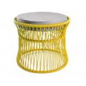 Ottoman fauteuil Acapulco Blanc