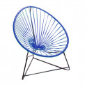 Night Blue acapulco kids chair