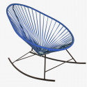 fauteuil à bascule Acapulco Bleu Nuit