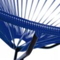 Zoom fauteuil à bascule Acapulco bleu nuit