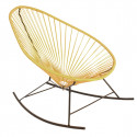 Lemon Yellow Acapulco rocking chair