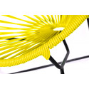 Yellow Detail Acapulco kids chair