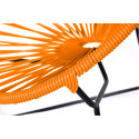 orange Detail Acapulco kids chair