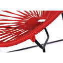 Red Detail Acapulco kids chair