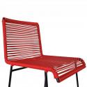 Assise chaise haute de cuisine Rouge