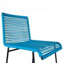Detalle de Taburete diseño Azul Cielo