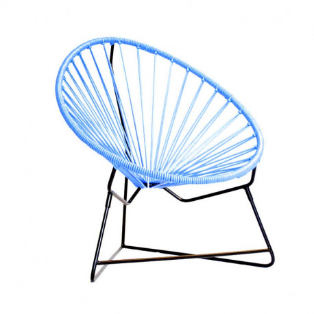 Blue acapulco kids chair