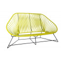 Lemon Yellow acapulco sofa 3 seats