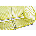 Lemon Yellow acapulco outdoor sofa zoom