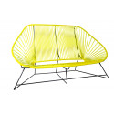 Yellow acapulco sofa 3 seats