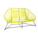 Yellow acapulco sofa 3 seats