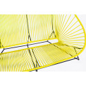 Yellow acapulco outdoor sofa zoom