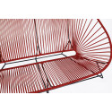 zoom de al aire libre Sofa Bordeaux Purpura